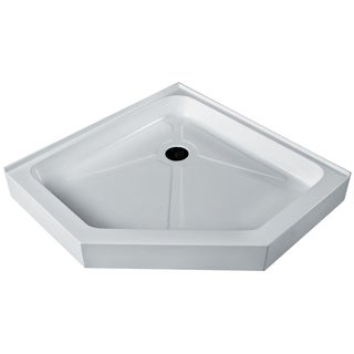 Vigo White Neo-Angle Shower Tray (42x42)