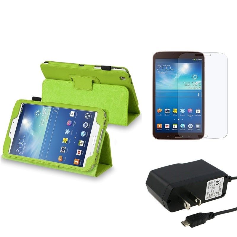 BasAcc Case/ Charger/ LCD Protector for Samsung Galaxy Tab 3/ 8.0