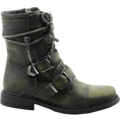 Women's Bronx Mister Ree Army Cow Stonewashed Leather