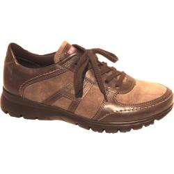 Women's ara Noreen 30022 Brown/Tan/Piomo Calf Leather/Suede