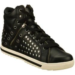 Women's Skechers Kicks Super Stud Black