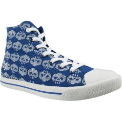 Men's Burnetie High Top Print 016233 Blue