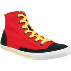 Men's Burnetie High Top Vintage 003133 Red
