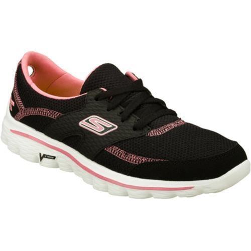 Women's Skechers Go Walk 2 Hope Black/Pink