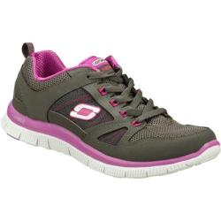 Women's Skechers Flex Appeal Spring Fever Charcoal/Purple