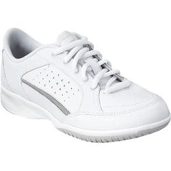 Women's Easy Spirit Trainfree White Leather