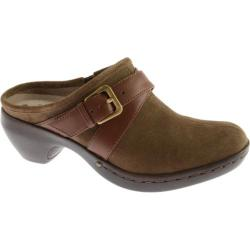 Women's Easy Spirit Cydonia Medium Green/Brown Suede