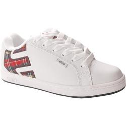 Women's Etnies Fader White Plaid