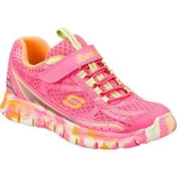 Girls' Skechers Synergy Dreamwavez Neon Pink/Orange