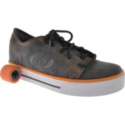 Boys' Heelys Plush Gray/White/Orange