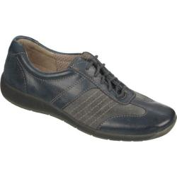 Women's Naturalizer Barnett Classic Navy Mirage Leather/Shale Grey Suede