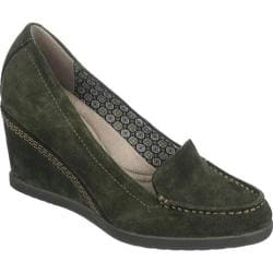 Women's Naturalizer Paisley Antiba Green Oil Velour Suede