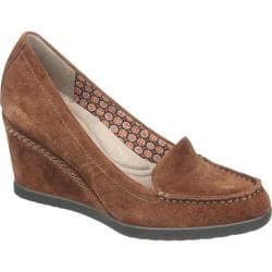 Women's Naturalizer Paisley Coffee Bean Oil Velour Suede