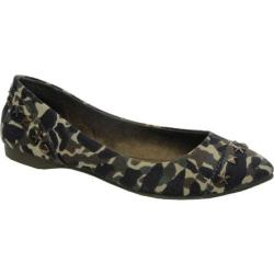 Women's Rocket Dog Carley Olive Smoke Screen Cotton