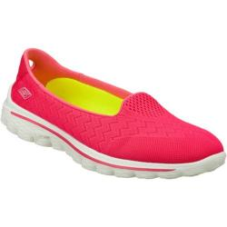Women's Skechers GOwalk 2 Axis Hot Pink