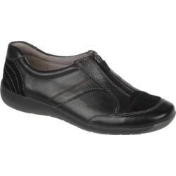Women's Naturalizer Baldwin Black Mirage Leather/Oil Velour Suede