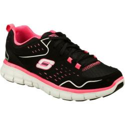 Women's Skechers Synergy A Lister Black/Hot Pink