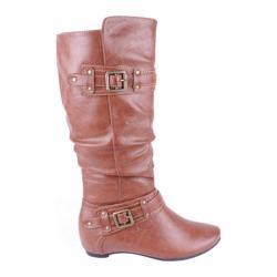 Women's Beston Amar-34A Cognac Faux Leather