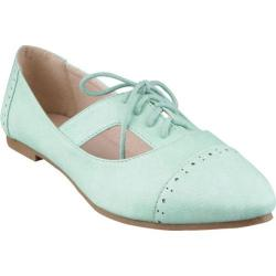 Women's Beston Sweet Mint Faux Leather