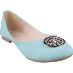 Women's Beston Viola-02 Mint Faux Leather