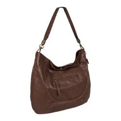 Women's THE SAK Indio Leather Hobo 106190 Walnut