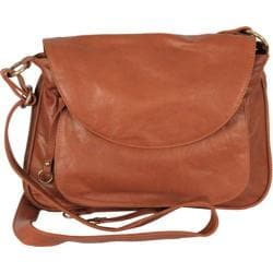 Women's Latico Mitzi Shoulderbag 7633 Tan Leather