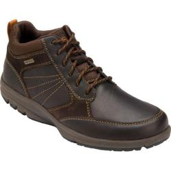 Men's Rockport Adventure Ready Mid Boot WP Dark Brown Full Grain Leather