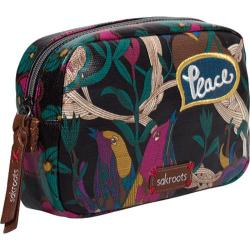 Women's Sakroots Artist Circle Travel Cosmetic Case Jewel Peace