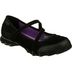 Women's Skechers Relaxed Fit Bikers Fashion Frontier Black