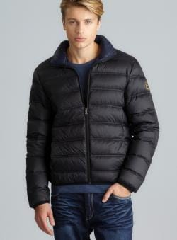 Michael Kors Quilted Packable Down Jacket