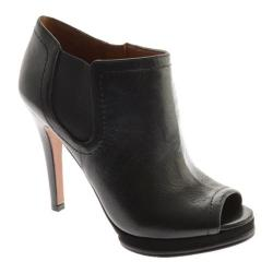 Women's Nine West Sassy Black/Black Leather