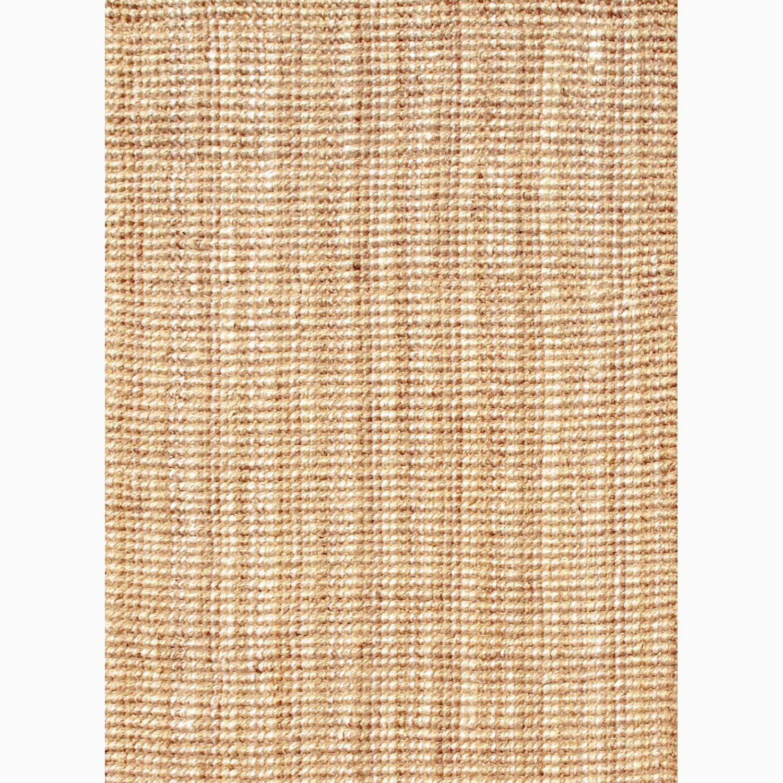 Handmade Ivory/ Taupe Jute Natural Rug (2 x 3)