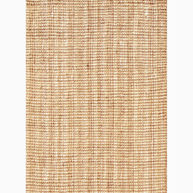 Handmade Ivory/ Taupe Jute Natural Rug (5 x 8)