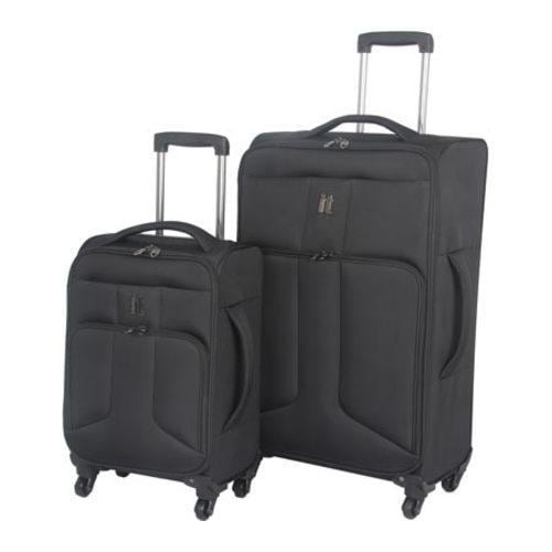 IT Luggage Amsterdam 2 Piece Set Black
