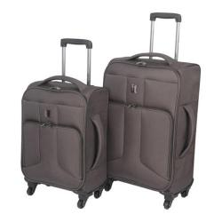 IT Luggage Amsterdam 2 Piece Set Charcoal