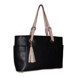 Women's Blingalicious Leatherette Handbag Q2022 Black