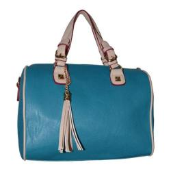 Women's Blingalicious Leatherette Handbag Q2023 Blue