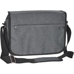 Everest Deluxe Laptop Messenger 059LT Charcoal