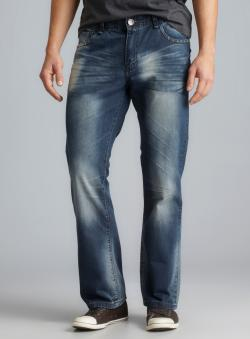 XRAY Five Pocket Distressed Jeans