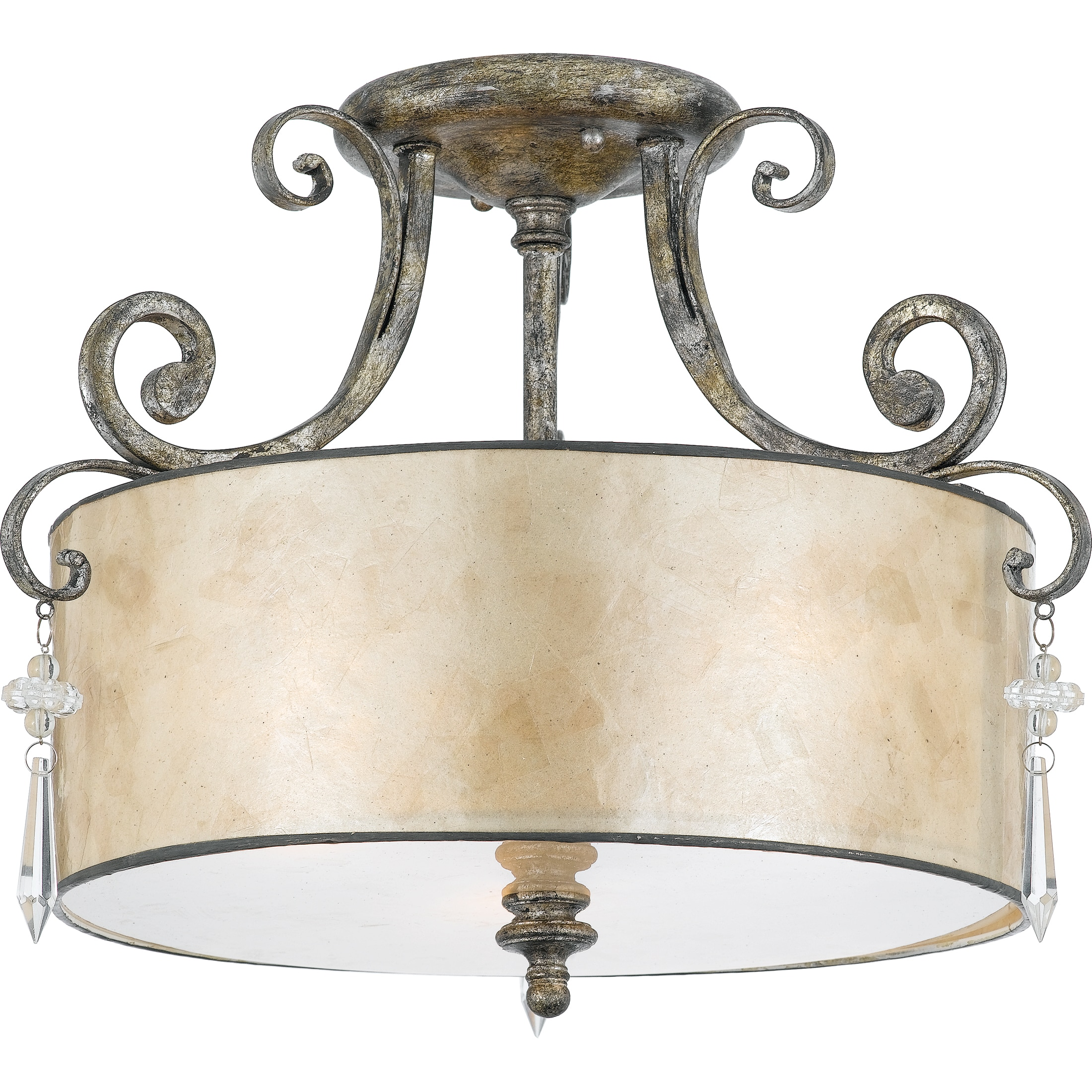 Quoizel 'Kendra' Semi-flush Mount