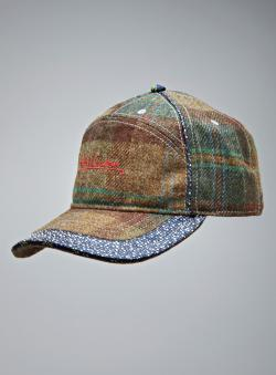 Robert Graham Plaid & Paisley Signature Logo Hat