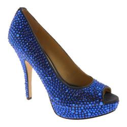 Women's Enzo Angiolini Showyou Dark Blue Fabric