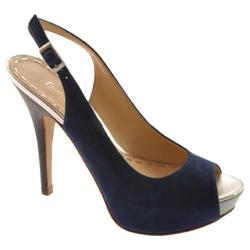 Women's Enzo Angiolini Sunshynne Dark Blue Suede