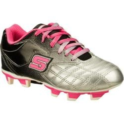 Girls' Skechers Teamsterz Black/Pink