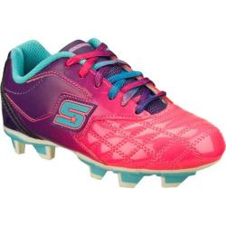 Girls' Skechers Teamsterz Pink/Purple