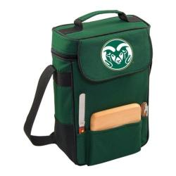 Picnic Time Duet Colorado State Rams Print Hunter Green
