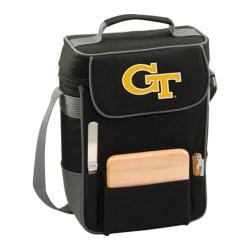 Picnic Time Duet Georgia Tech Yellow Jackets Embroidered Black/Grey
