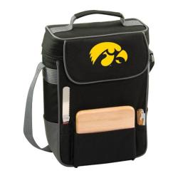 Picnic Time Duet Iowa Hawkeyes Embroidered Black/Grey