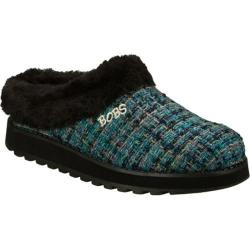 Women's Skechers BOBS Keepsakes Curl Up Blue