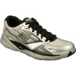 Men's Skechers GOrun Ride 3 Silver/Black